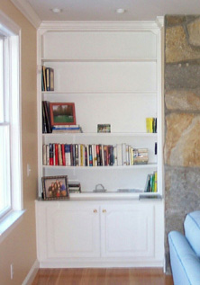 Built In Mantle Wall  Unit